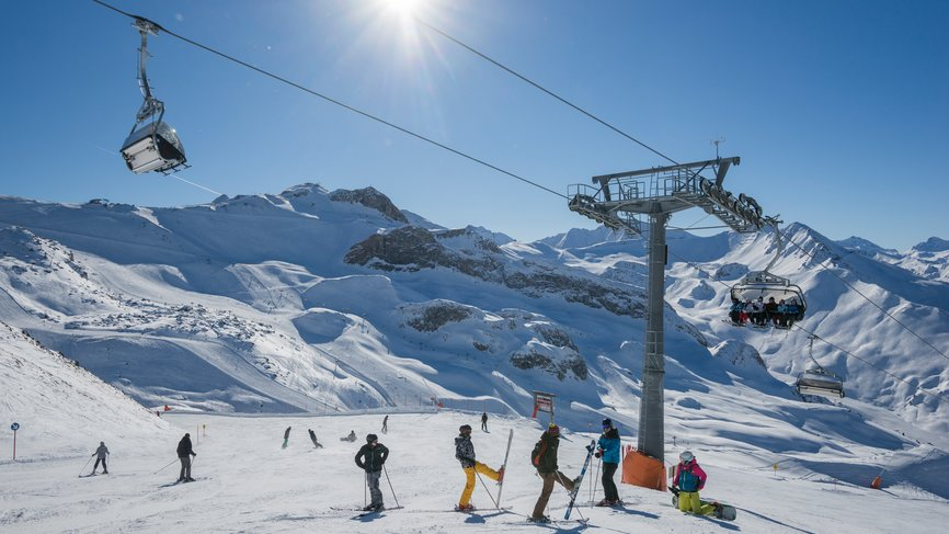 Ischgl offers skiers ideal slopes for beginners